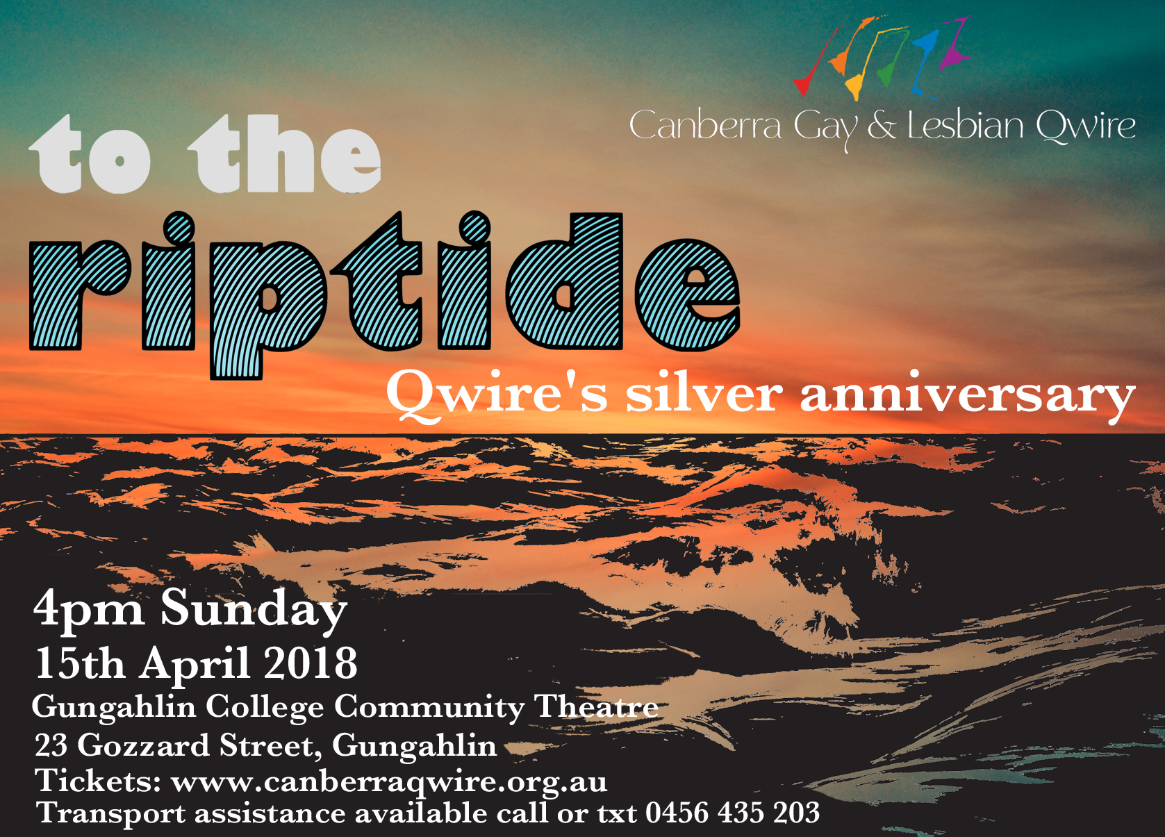 To the Riptide Concert - Book now
